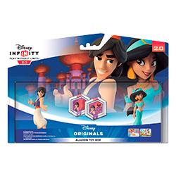 PACK DISNEY INFINITY 2.0 ALADDIN TOY BOX