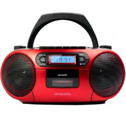 RADIO CD CASETTE ROJO BLUETOOTH AIWA