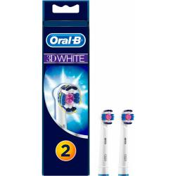PACK 2 CEPILLOS 3D WHITE ORAL B