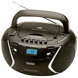 RADIO CASSETTE CD MP3 USB 1WX2RMS DAEWOO