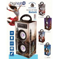 ALTAVOZ RADIO SD/USB BLUETOOTH DIGIVOLT BT2008