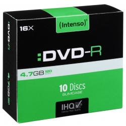 DVD-R 4,7GB 16X SLIM BOX 10 INTENSO