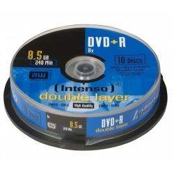 DVD+R 8,5GB 8X TARRINA 10 DOUBLE LAYER