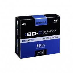 BLU-RAY 25GB 4X JEWEL CASE 5  INTENSO