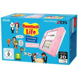 CONSOLA 2DS ROSA+TOMODACHI LIFE