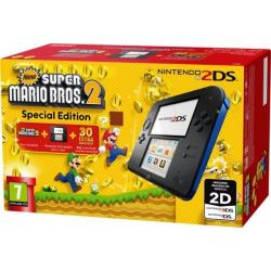 CONSOLA 2DS AZUL+NEW SUPER MARIO BROS 2