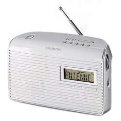 RADIO DIGITAL PILAS RED BLANCO GRUNDIG GPR1210