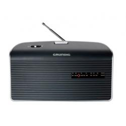 RADIO AM/FM PILAS RED GRIS GRUNDIG