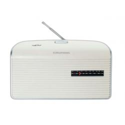 RADIO AM/FM PILAS RED BLANCO GRUNDIG