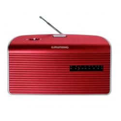 RADIO AM/FM PILAS RED ROJA GRUNDIG