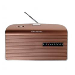 RADIO AM/FM PILAS RED MARRON GRUNDIG