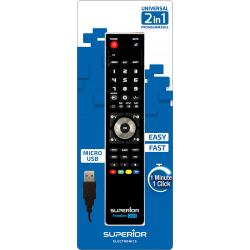 MANDO TV PROGRAMABLE 2EN1 C/USB SUPERIOR