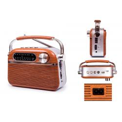 RADIO RETRO BLUES USB KOOLTECH