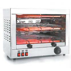 TOSTADOR ELECTRICO HORIZONTAL PARRILLA DOBLE 3000W