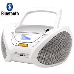 RADIO CD MP3 USB BLUETOOTH BLANCO LAUSON