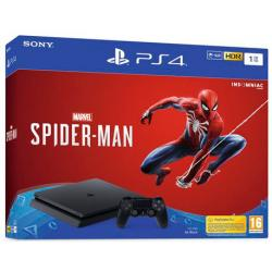 CONSOLA PS4 1 TB + SPIDERMAN