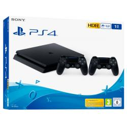 CONSOLA PS4 1TB+2 DUAL SHOCK