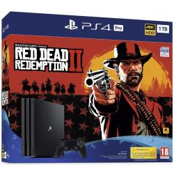 CONSOLA PS4 PRO 1TB + RED DEAR REDEM