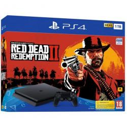 CONSOLA PS4 1 TB + RED DEAD REDEMPTION