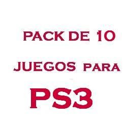 PS3 PACK DE 10 JUEGOS DE PS3