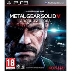 PS3 METAL GEAR SOLID V:GROUND ZEROES