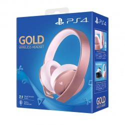 PS4 AURICULAR INALAMBRICO GOLD ROSE