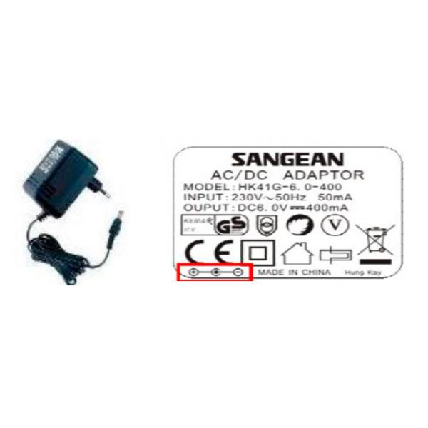 ADAPTADOR DE RED PRD6 SANGEAN