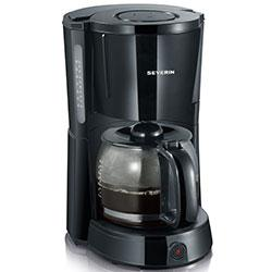 CAFETERA NEGRA 10 T. 1000 W. SEVERIN