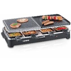 RACLETTE GRIL+PIEDRA 1500W SEVERIN