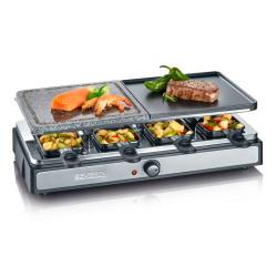 RACLETTE GRIL+PIEDRA 1400W SEVERIN
