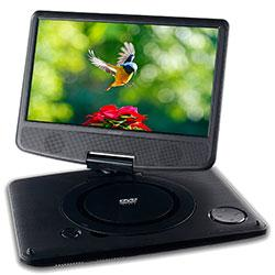 "DVD PORTATIL 9"" NEGRO SD, USB SUNSTECH"