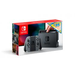 CONSOLA NINTENDO GRIS SWITCH BUNDLE DIGI