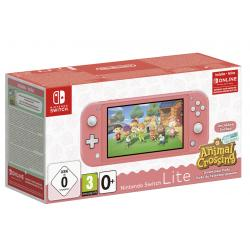 CONSOLA NINTENDO SWITCH LITE CORAL+ANIMAL
