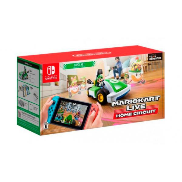 SWITCH MARIO KART LIVE HOME CIRCUI LUIGI