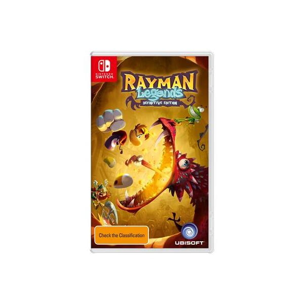 SWITCH RAYMAN LEGENDS: DEFINIVE EDITION