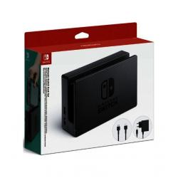 SWITCH DOCK SET BASE DE CARGA+ADAP+HDMI