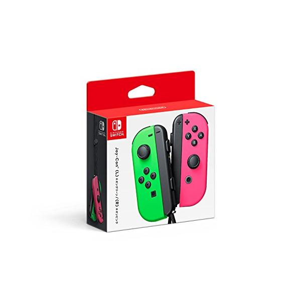 SWITCH JOY-CON (set Izda/Dcha) Verde Neó