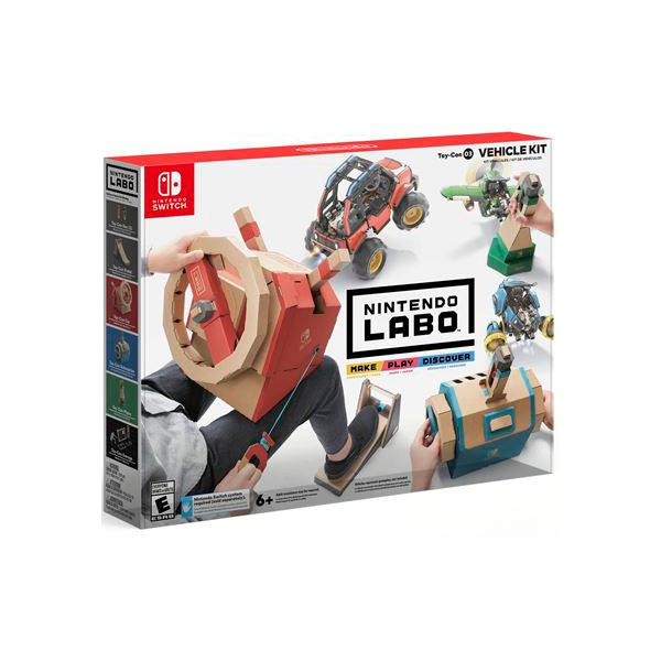 SWITCH NINTENDO LABO KIT DE VEHICULOS