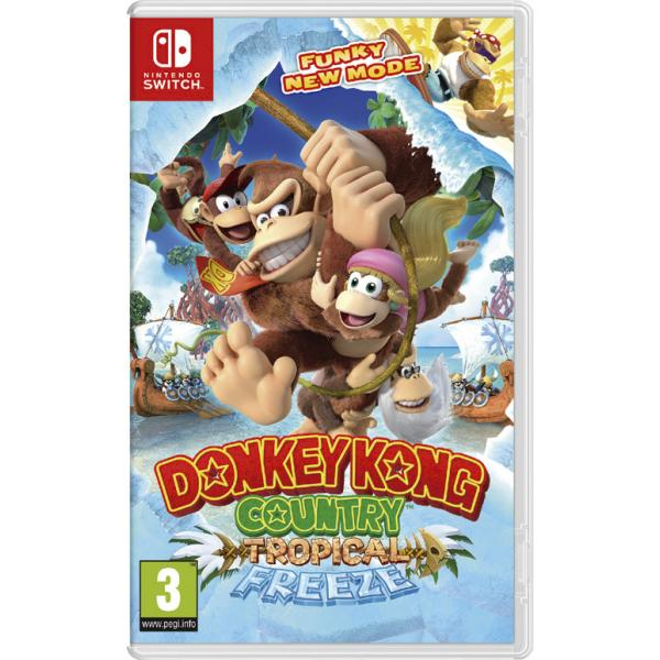 SWITCH DONKEY KONG COUNTRY:TROPICAL FREE