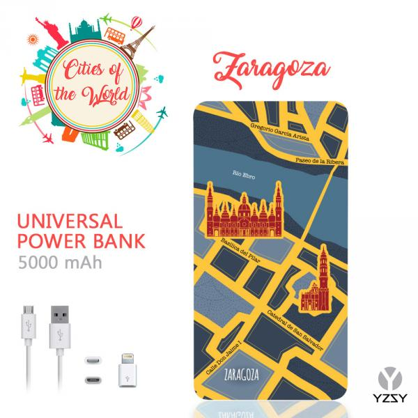 POWER BANK 5000MAH ZARAGOZA YZSY